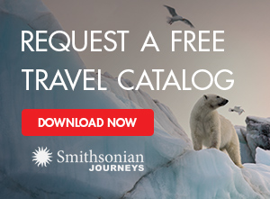 Smithsonian Journeys Catalog Request Promotion
