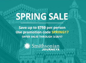 Smithsonian Journeys Spring Sale
