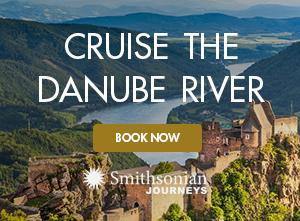 A castle along the fabled Danube River featured on A Danube River Cruise with Smithsonian Journeys