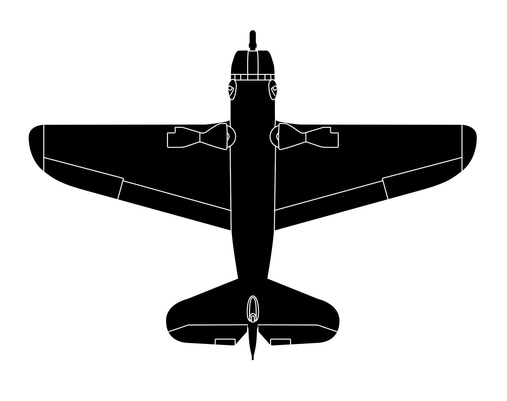 11d CurtissSB2CHelldiver_4View_LIVE.jpg