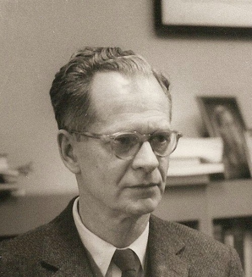 B.F. Skinner at the Harvard psychology department, circa 1950