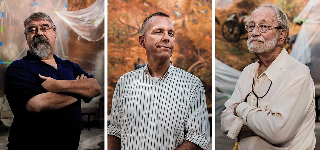 Triptych - Cyclorama Conservators