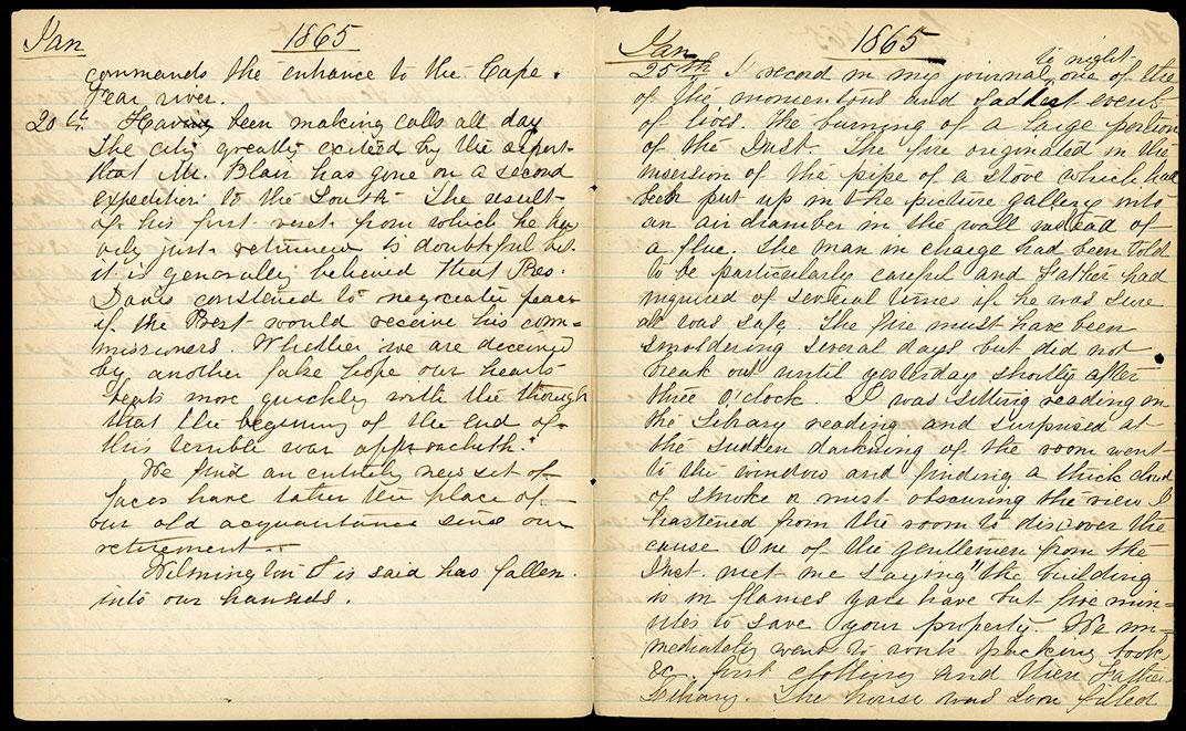 Mary Henry's Diary