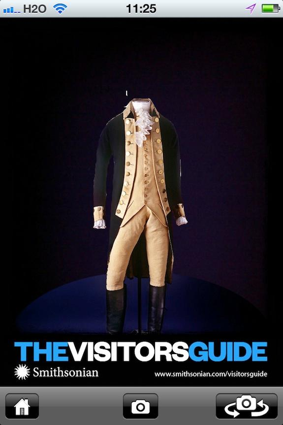 Try on some truly presidential duds with our digital postcard featuring George Washington's uniform.