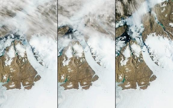 Greenland's Petermann Glacier