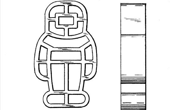 Astronaut shaped pasta