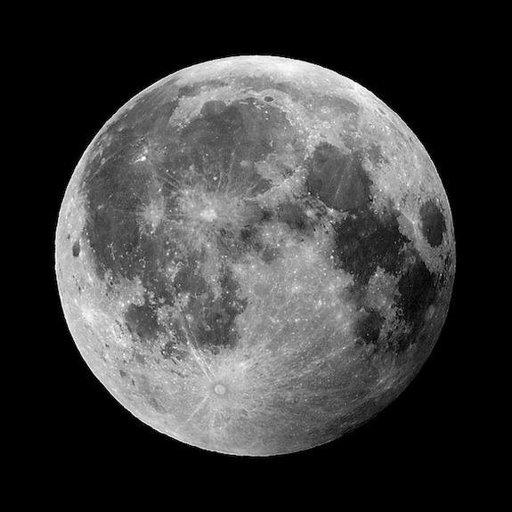 A full moon occurs once every 27 days or so