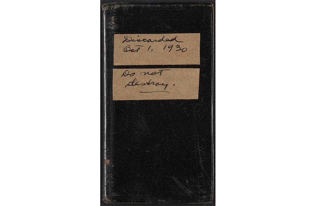 Walt Kuhn's address book