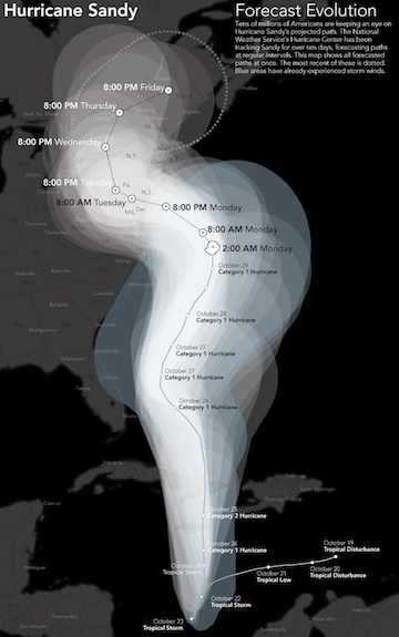 Sandy is likely to bring unprecedented damage to the East Coast.
