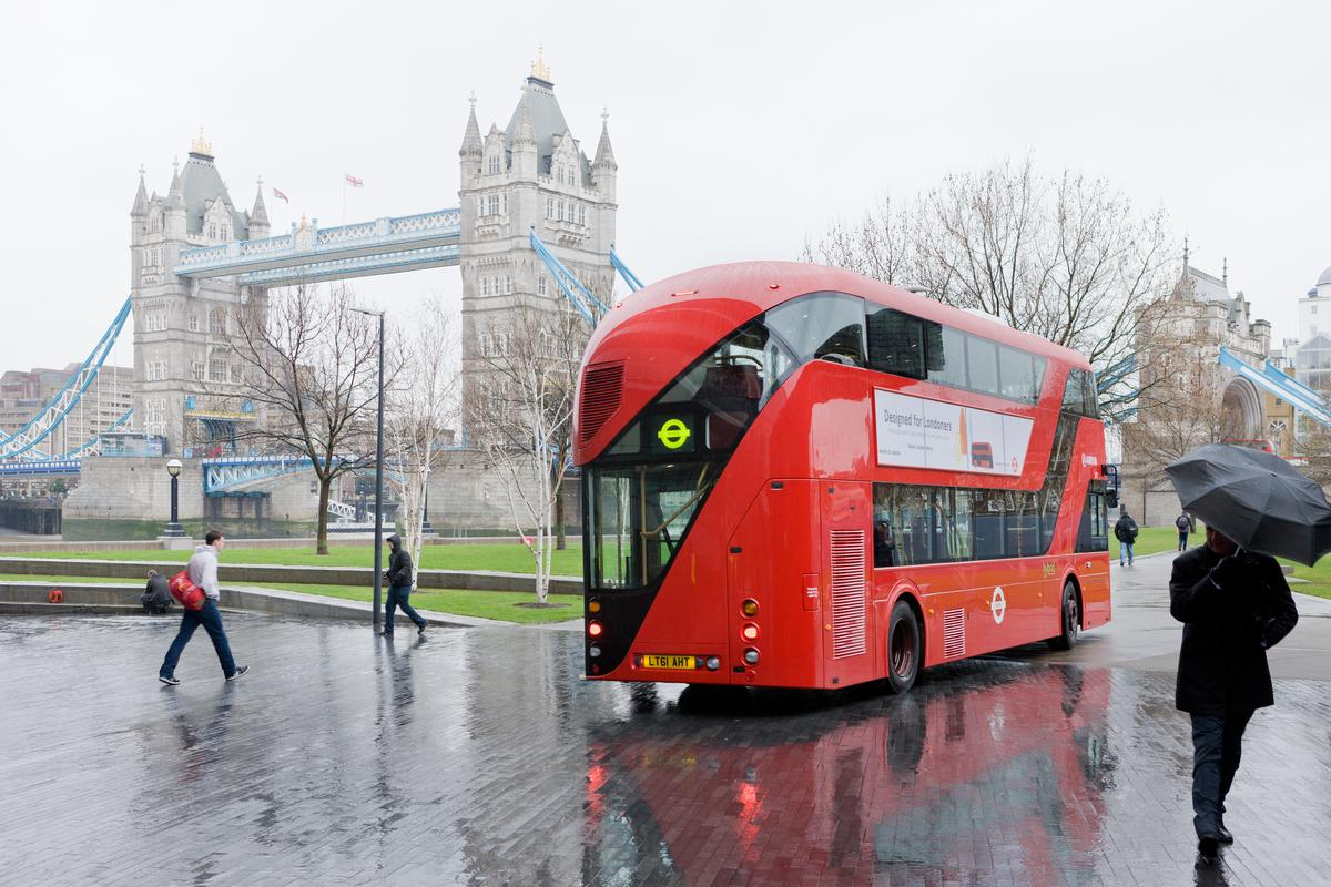 London, City Bus, Heatherwick Studio