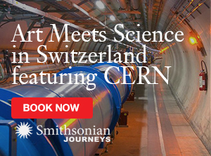 Art meets Science in Switzerland featuring CERN