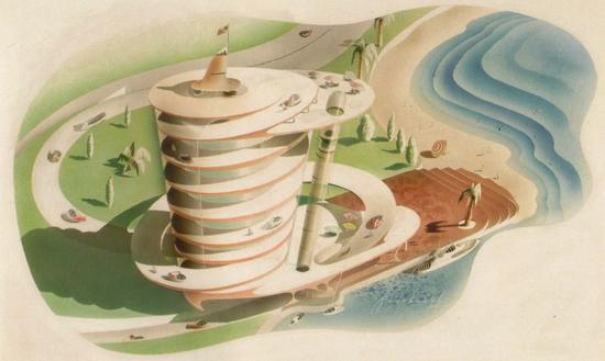 "Radebaugh's ""Drive-Up Hotel"" circa 1948"