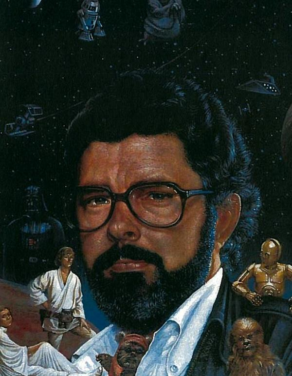 George Lucas by George Hess, 1983, gift of TIME magazine