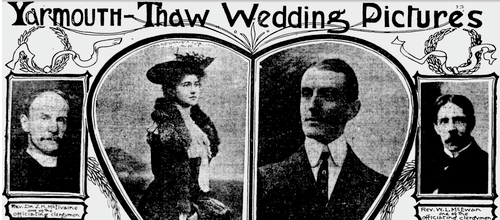 """The Yarmouth-Thaw Wedding Pictures"""