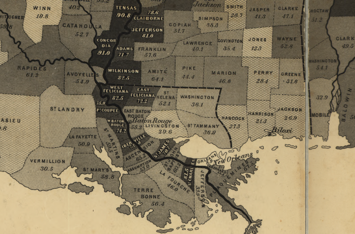 These Maps Reveal How Slavery Expanded Across The United States - Map of us east of mississippi river