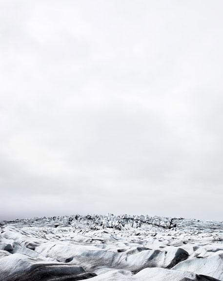 Fláajökull, Plate I, 2010. Iceland