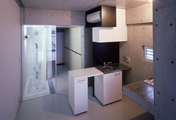 The Scaletta Apartments in Tokyo by Miligram Studio