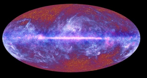 New findings about the cosmic microwave background