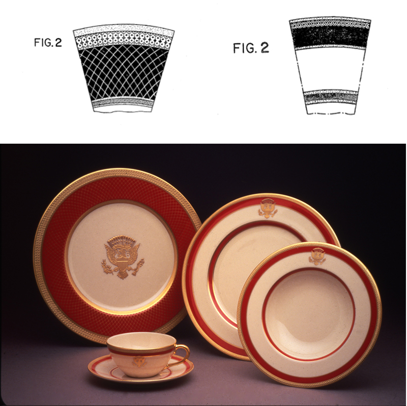 Ronald-Reagan-china.jpg  sc 1 st  Smithsonian Magazine & Did You Know That the Designs On Some White House China Are Patented ...