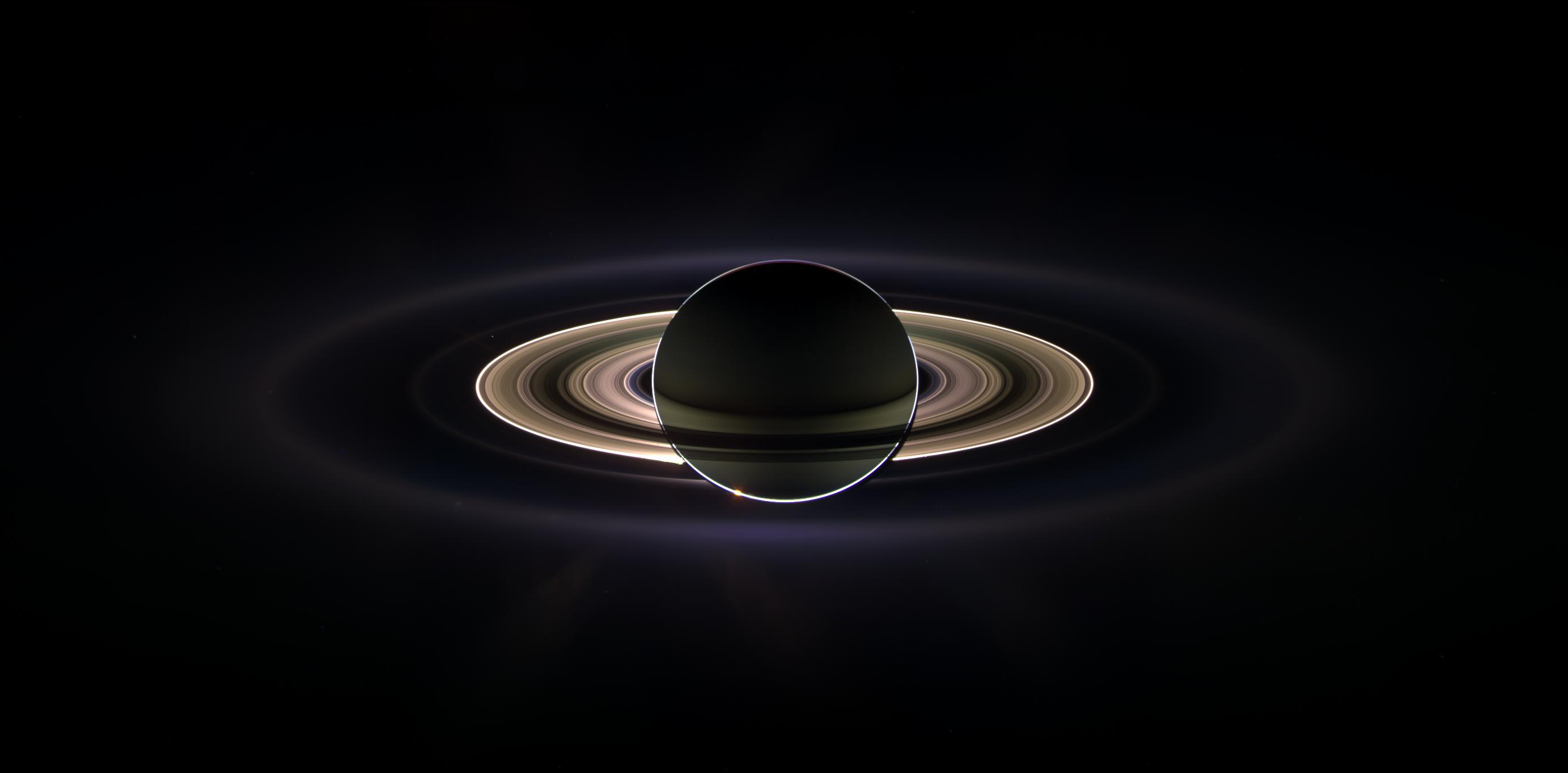 In Saturn's Shadow