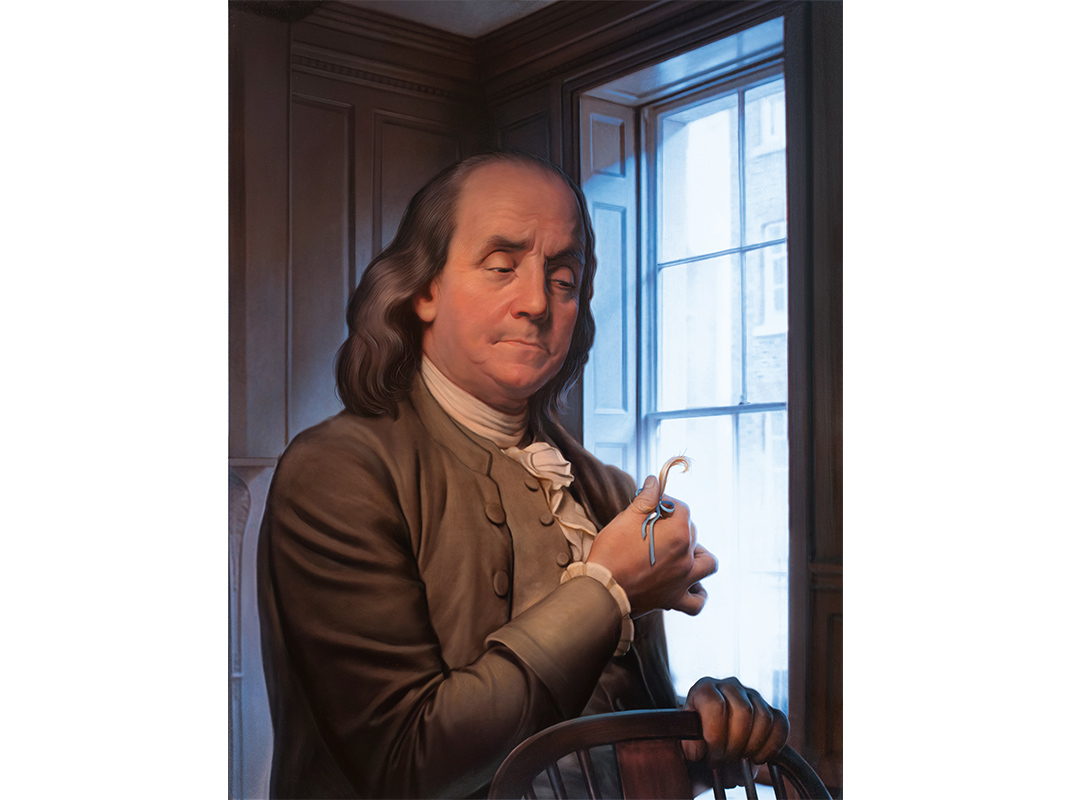 """Franklin would remember his son as """"the DELIGHT of all that knew him."""""""