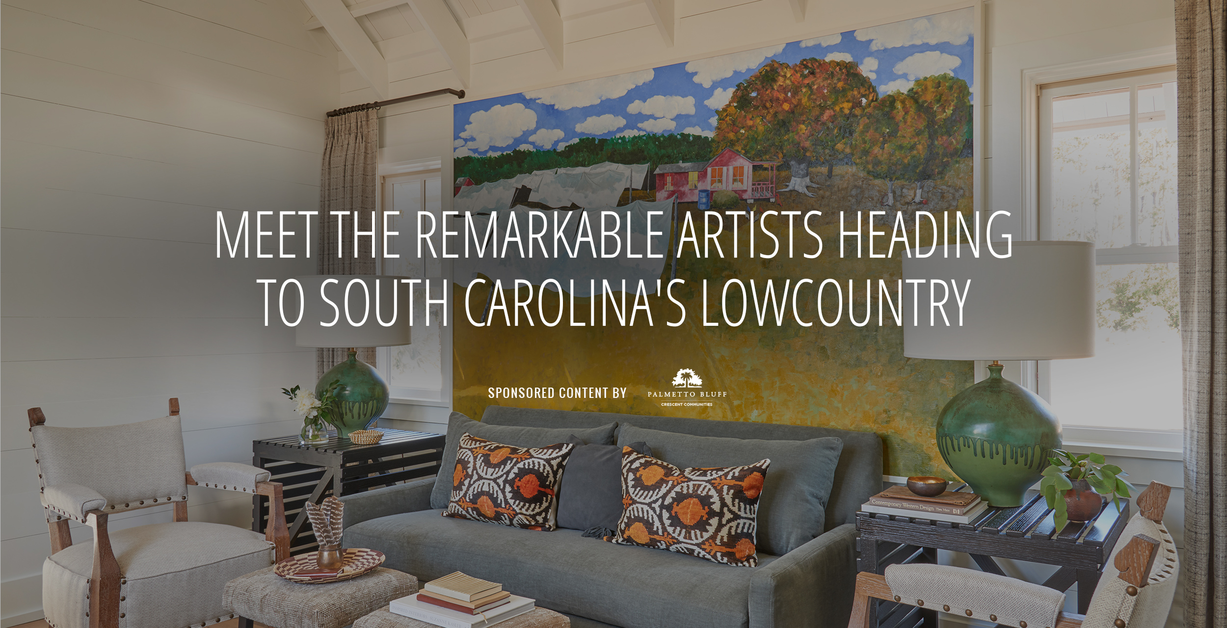 Meet the Remarkable Artists Heading to South Carolina s Lowcountry