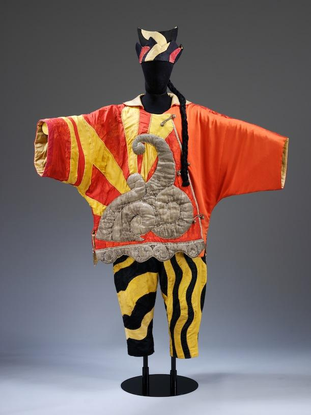 Pablo Picasso Costume for the Chinese Conjuror from Parade, c. 1917