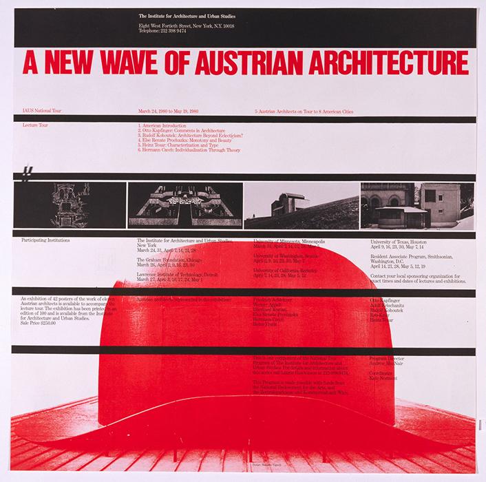Austrian Architecture poster