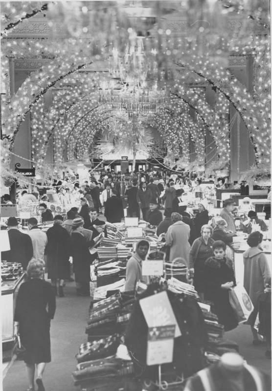 Higbee's department store, 1963