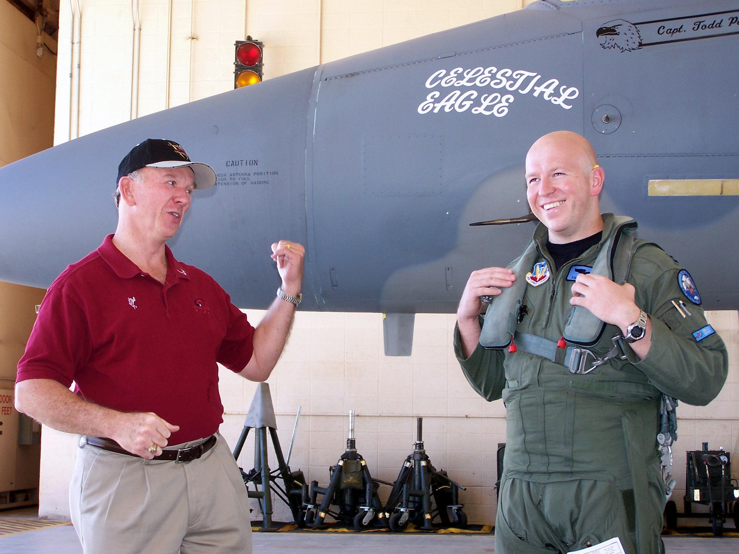 F-15A that Pearson