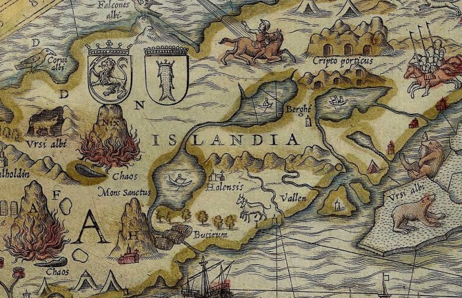 Olaus Magnus was famous for his Carta Marina