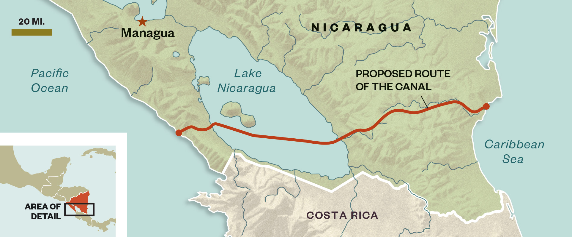 A New Canal Through Central America Could Have Devastating