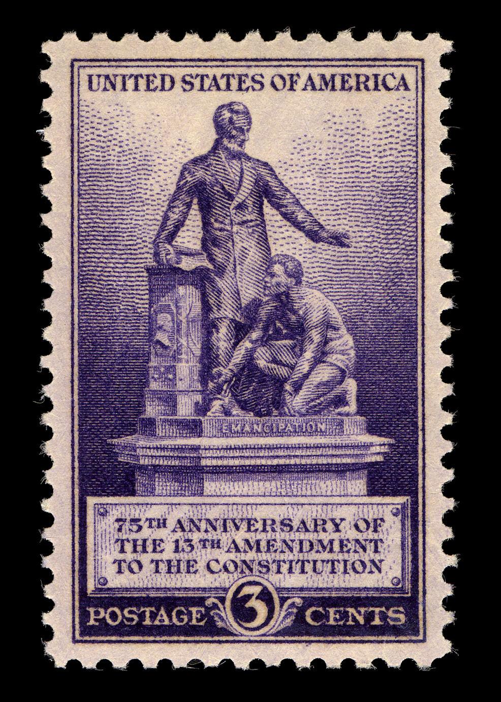13th Amendment Stamp