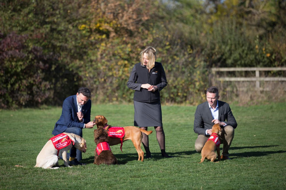 Team and Sniffer Dogs