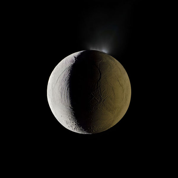 Enceladus Vents Into Space
