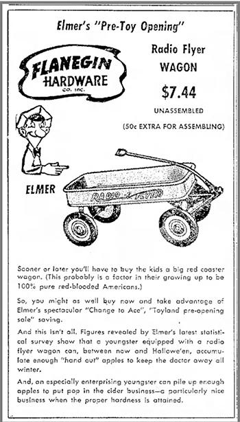 Radio Flyer ad 1953