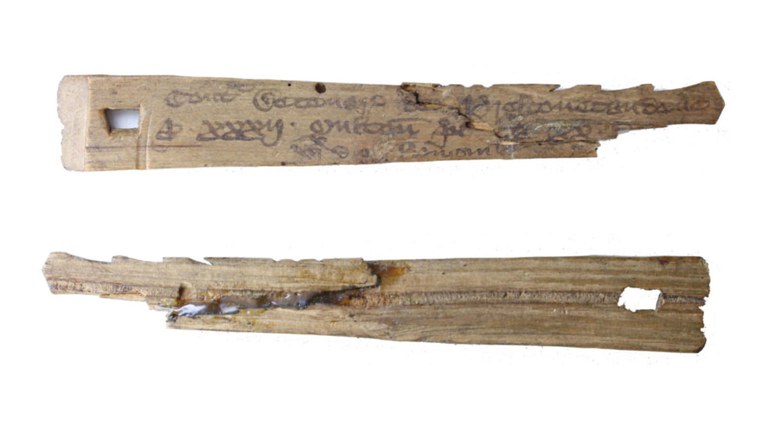 Medieval English tally sticks