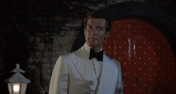 Roger Moore in The Man With the Golden Gun, 1974