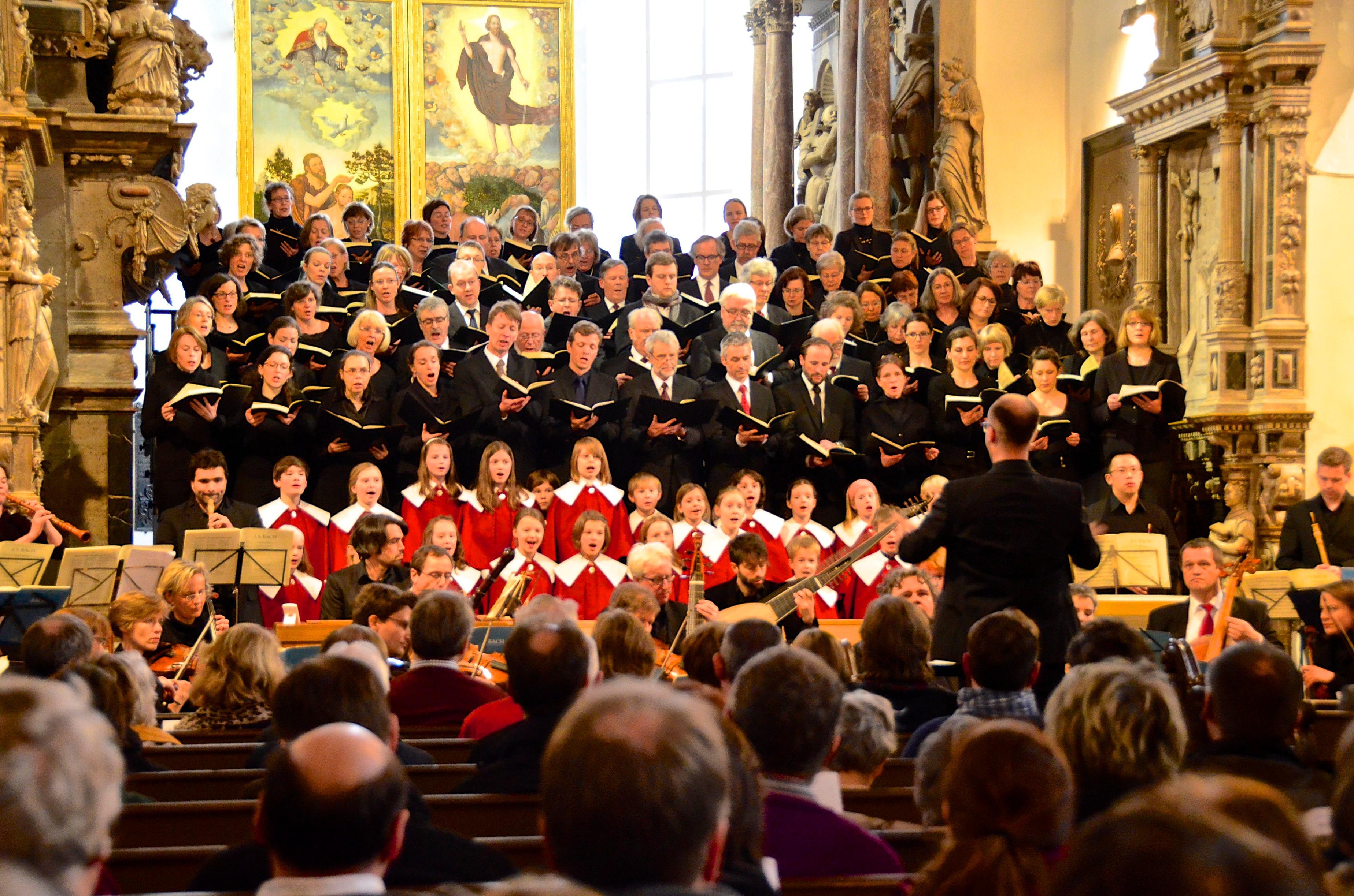 German Choir in Thuringia