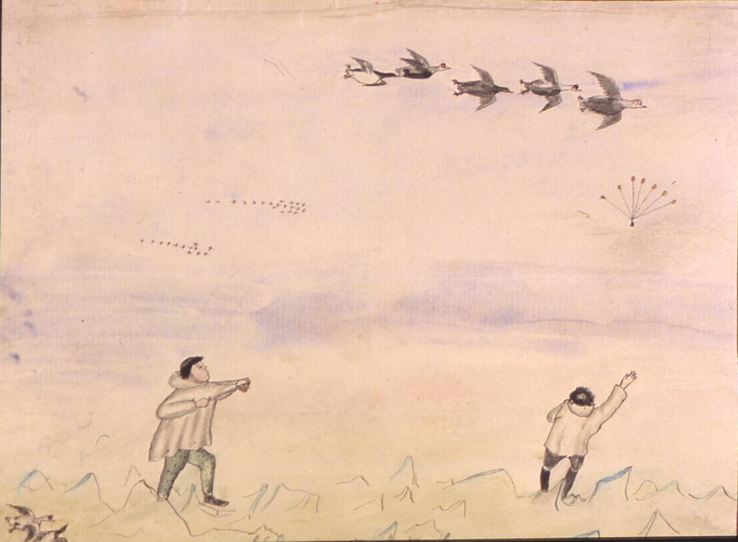 Hunter illustration