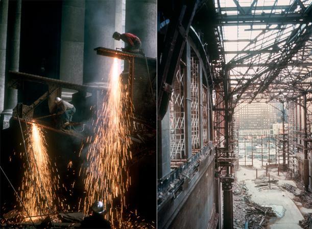 The demolition of Pennsylvania Station