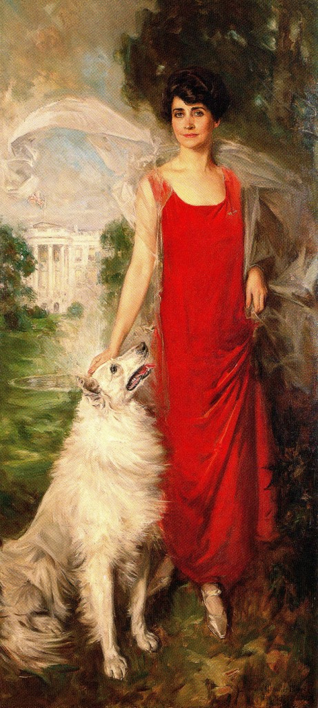 Grace Coolidge and Rob Roy collie