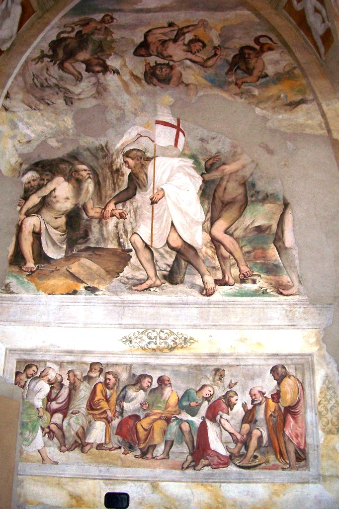 Romanino Frescoe
