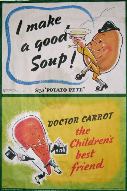 """Dr. Carrot"" and ""Potato Pete"""