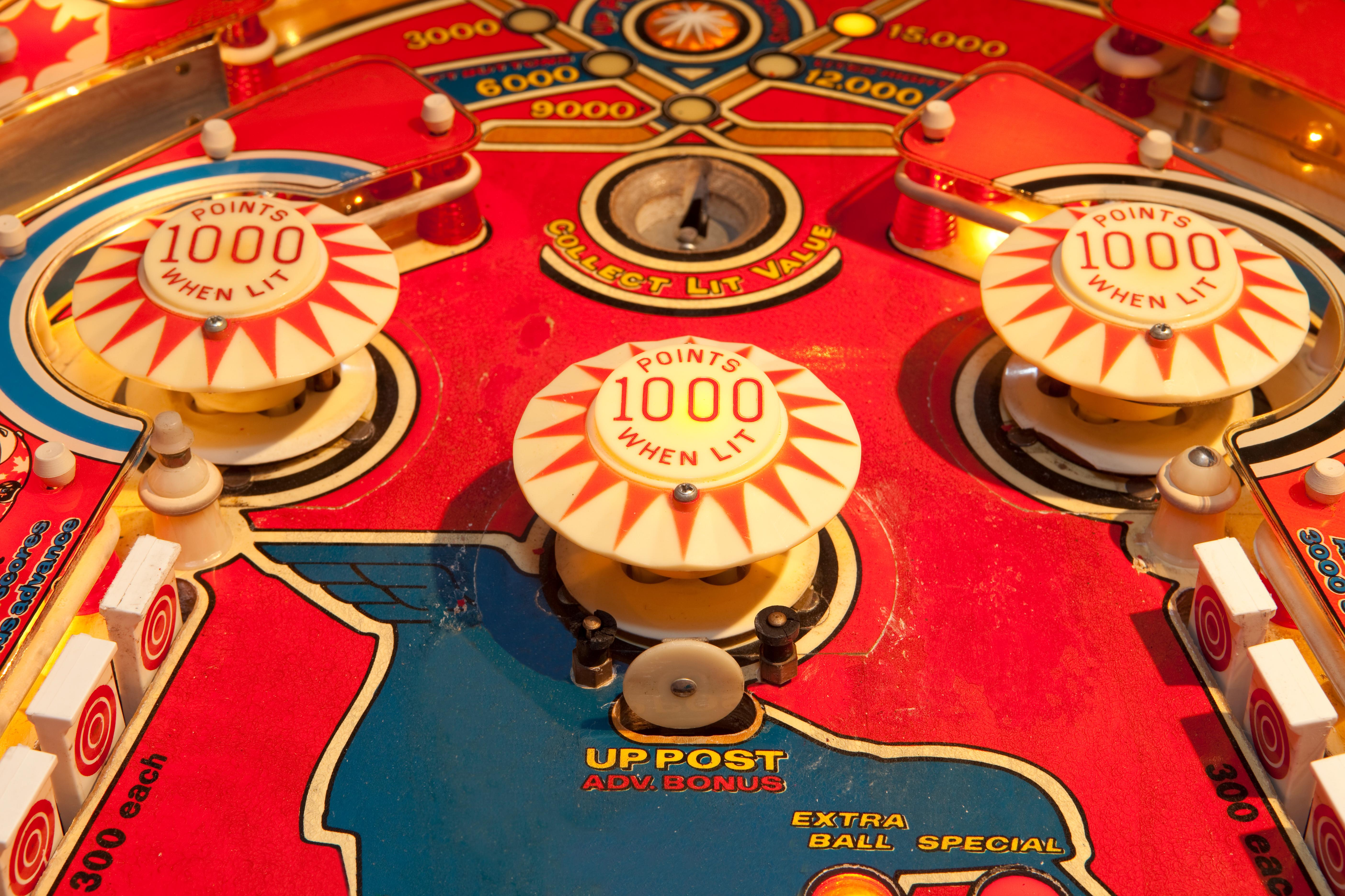 Pinball game detail