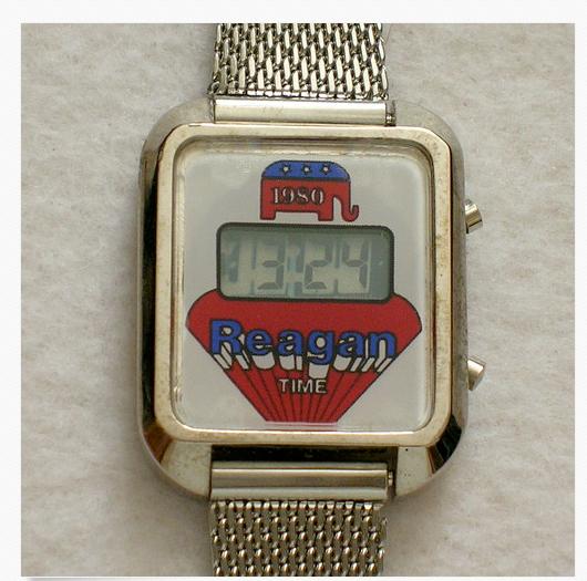 1980 President Ronald Reagan wristwatch