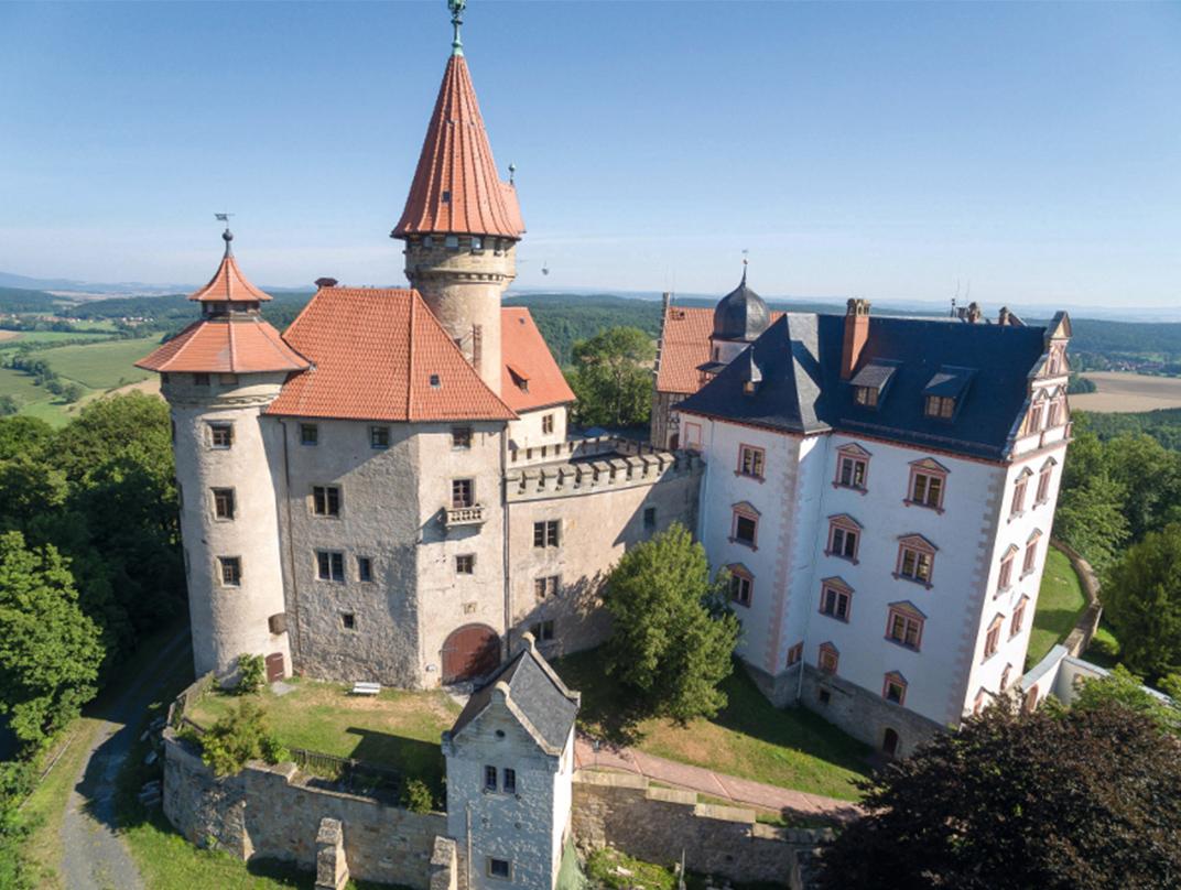 The German Castle Museum located at Veste Heldburg