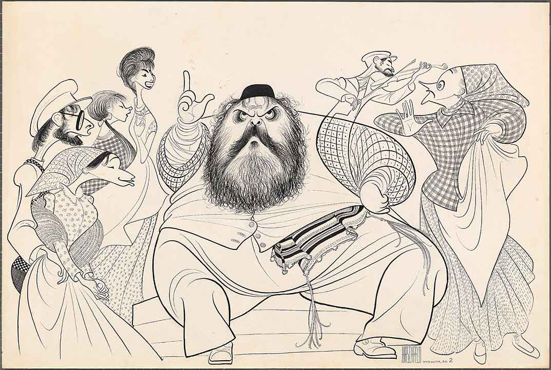 Zero Mostel, Fiddler on the Roof