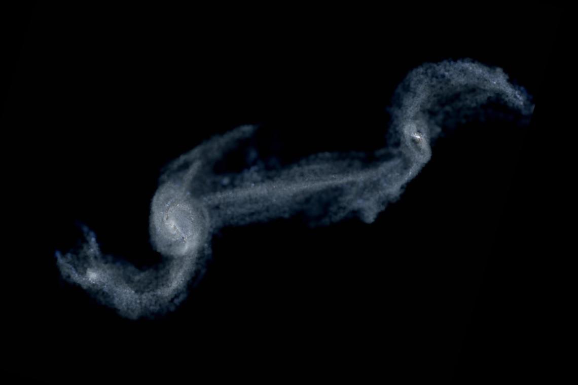 Interacting spiral galaxies