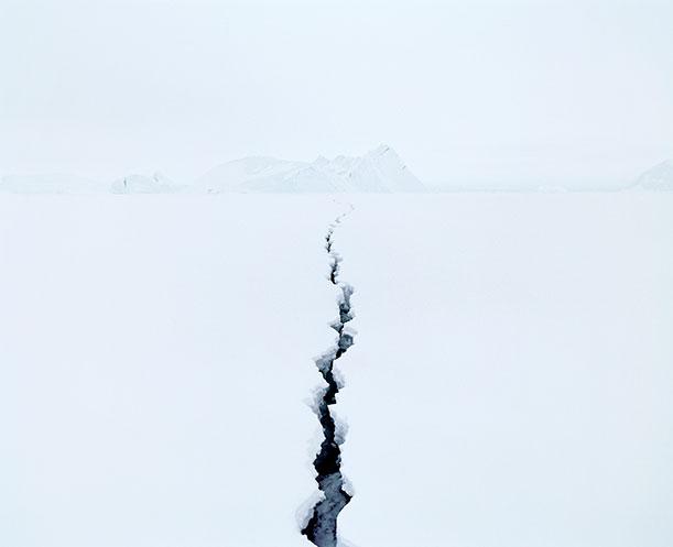 Fissure 2 (Antarctica) from Sans Nom, by Jean de Pomereu
